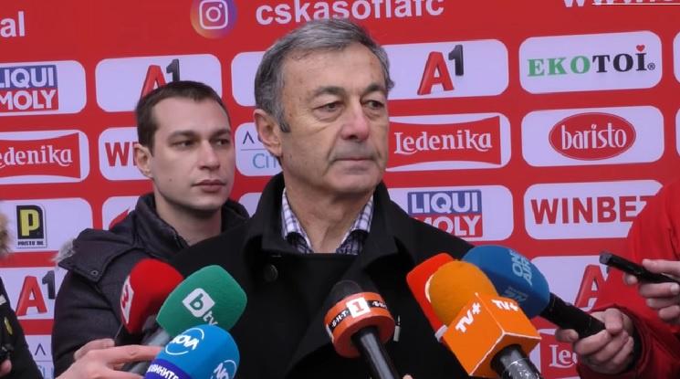 Пламен Марков: Не гоним играчи за една грешка