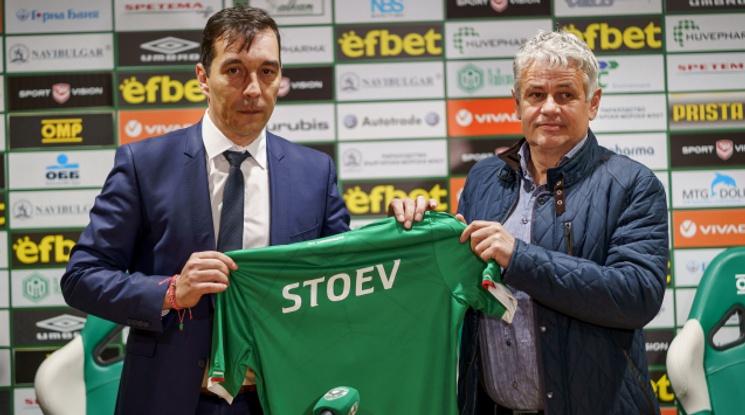 Официално: Стойчо Стоев е новият треньор на Лудогорец