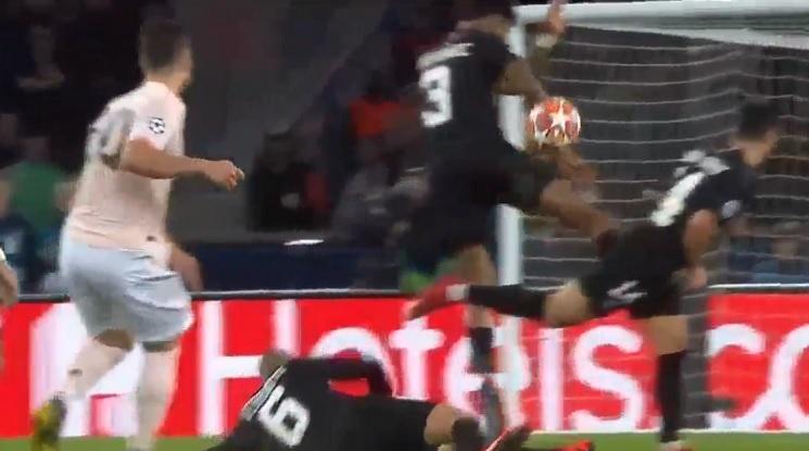 УЕФА потвърди дузпата на Юнайтед срещу ПСЖ (видео)