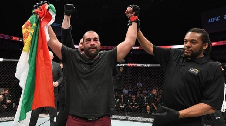 Благой Иванов-Багата с първа победа в UFC