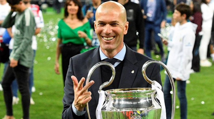 Зинедин Зидан се завръща начело на Реал Мадрид