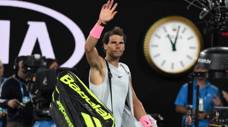 Надал се отказа от сблъсъка с Федерер