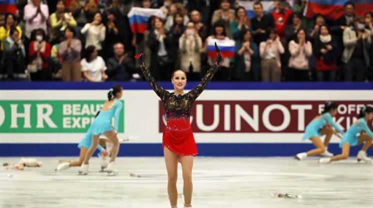 Загитова завоюва първата си световна титла по фигурно пързаляне