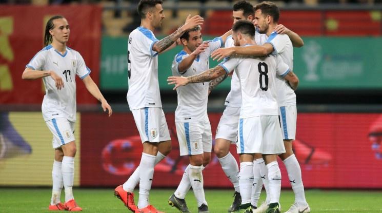 Уругвай спечели приятелския турнир Чайна Къп