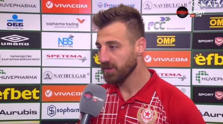 Капитанът на ЦСКА пред нов договор с клуба