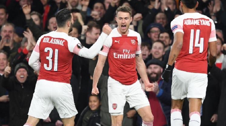 Арсенал и Челси със сериозна заявка за 1/2-финал в Лига Европа