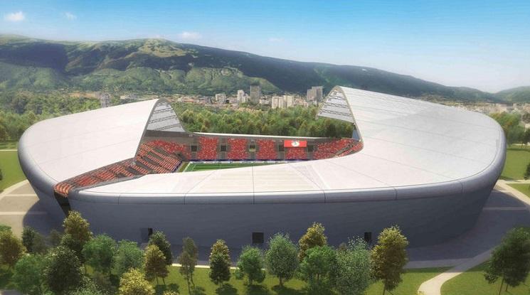 Зелена светлина за новия стадион на ЦСКА в Борисовата градина