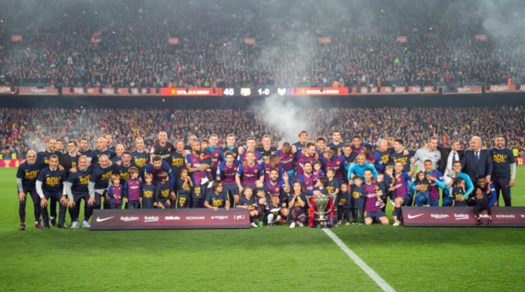 Барселона е новият-стар шампион на Испания (видео)