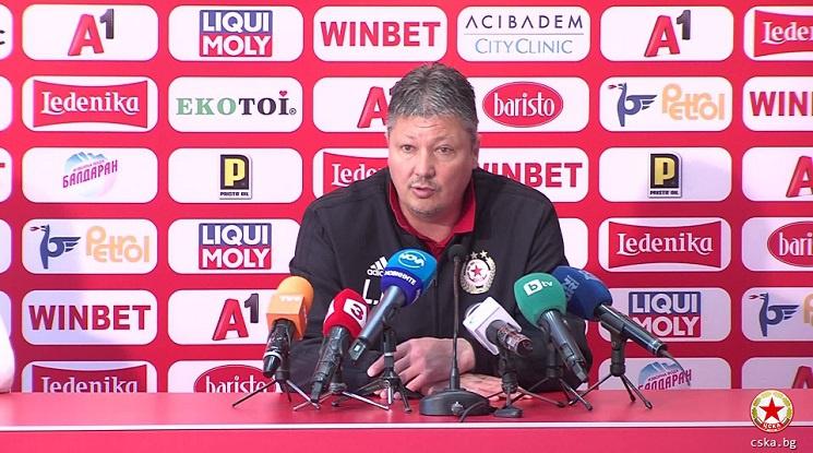 Официално: Любослав Пенев подаде оставка в ЦСКА