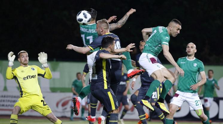 Лудогорец спаси точката срещу Берое в 93-ата минута (видео)