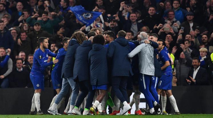 Английски финал и в Лига Европа (видео)