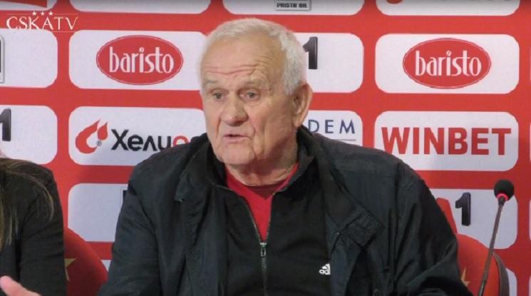 Люпко: ЦСКА е реален претендент за титлата