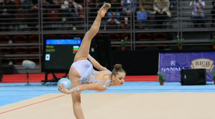 Боряна Калейн с трето бронзово отличие от Европейското в Баку