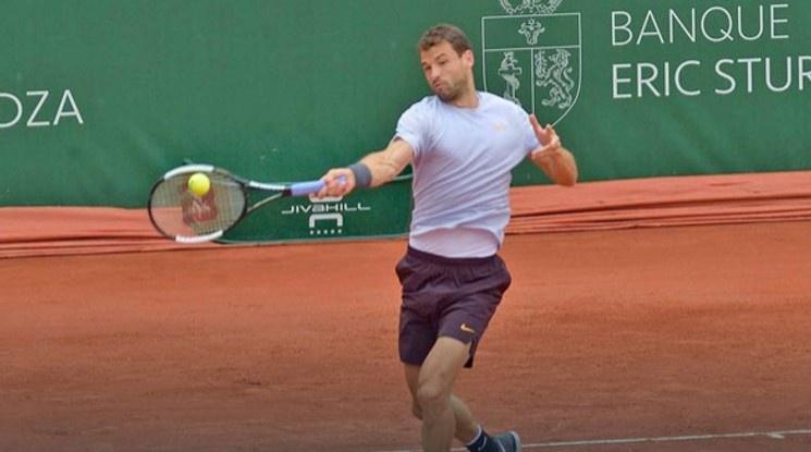 Григор Димитров се класира за основната схема на турнира в Женева