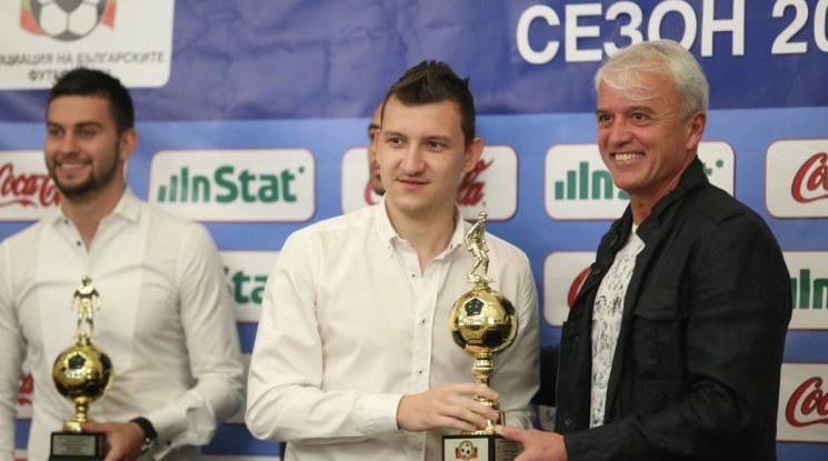 Тодор Неделев е футболист №1 за сезон 2018/19