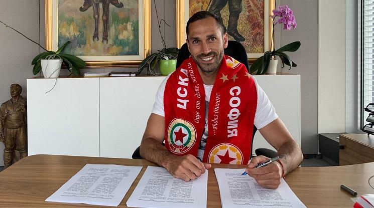Официално: ЦСКА подписа с Петър Занев