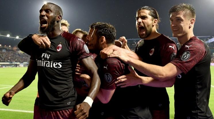 Милан се отказва от участие в евротурнирите