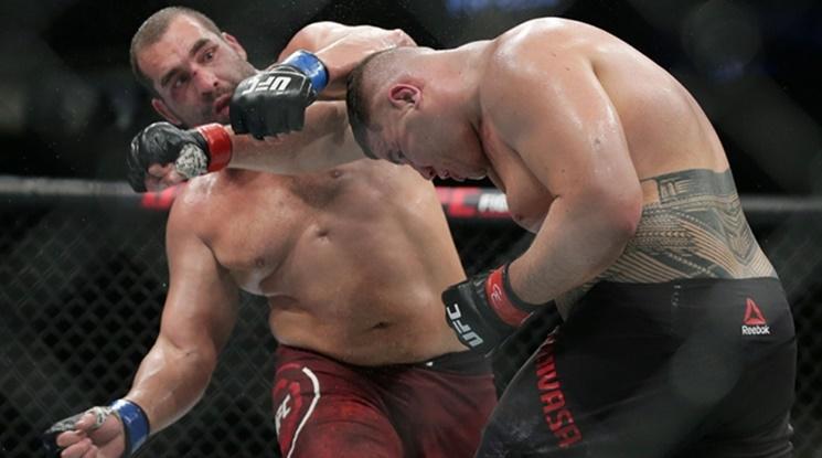 Багата с втора победа в UFC (видео)