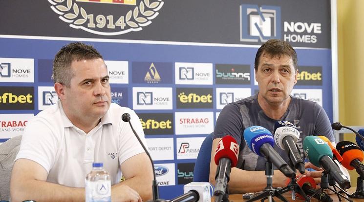 Хубчев: Тук съм да изградя отбор с дух и качества! (видео)
