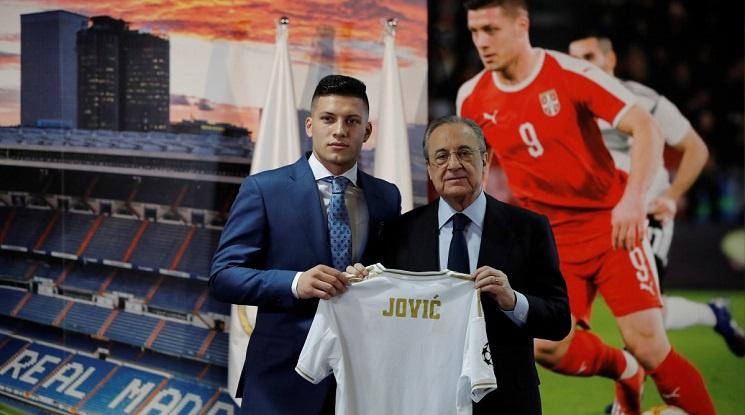 Официално: Реал Мадрид представи Лука Йович