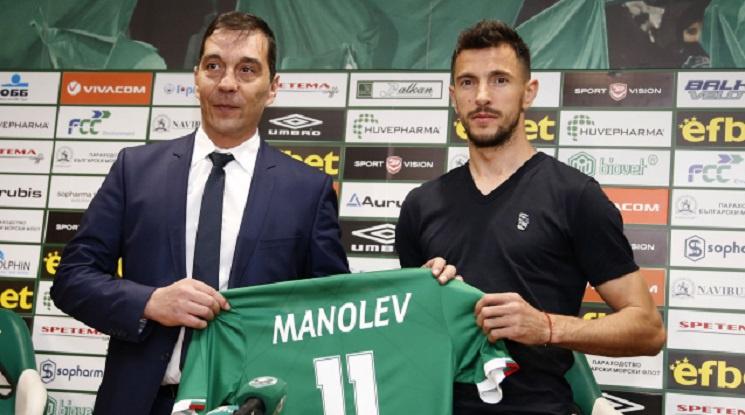Манолев: Борим се за влизане в Шампионска лига