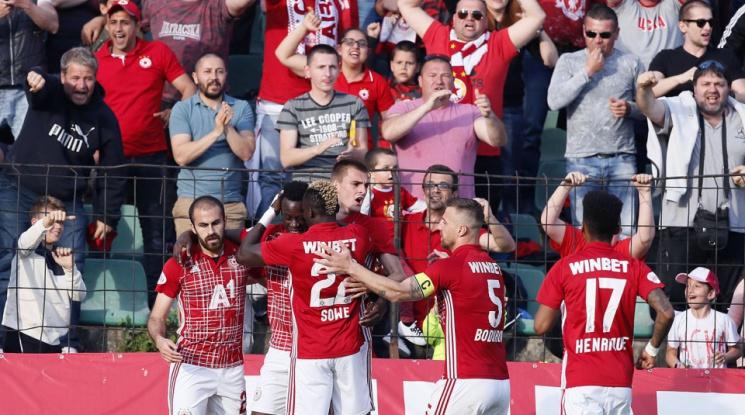 ЦСКА отново извади късмет при жребия