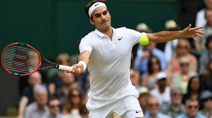 Федерер загуби сет на старта на Уимбълдън