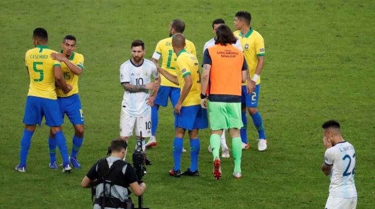 Бразилия разплака Аржентина и Меси, кариоките ще играят финал на Копа Америка (видео)