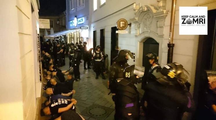 Жесток бой между фенове на Левски, Аякс и Краковия
