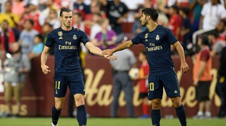 Бейл се завърна в игра с гол при зрелищно равенство между Реал и Арсенал (видео)