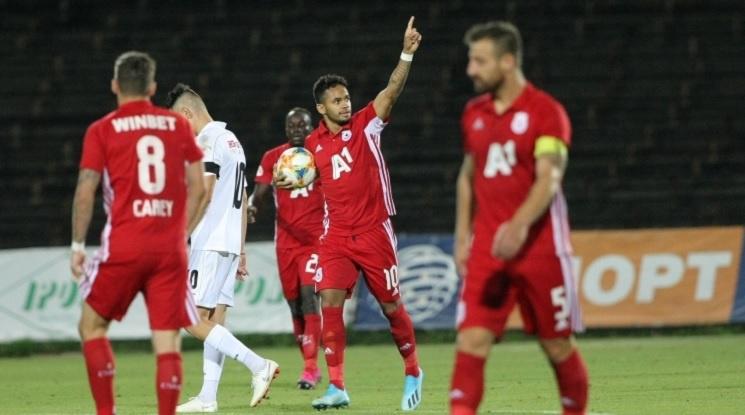 ЦСКА обърна Славия с два гола на Евандро (видео)