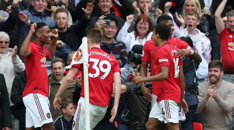 Мощно начало на сезона за Юнайтед, червените дяволи скъсаха мрежата на Челси (видео)