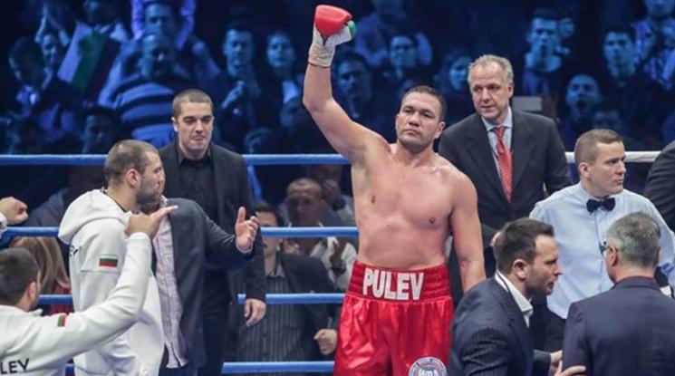 Кубрат Пулев излиза на ринга през ноември