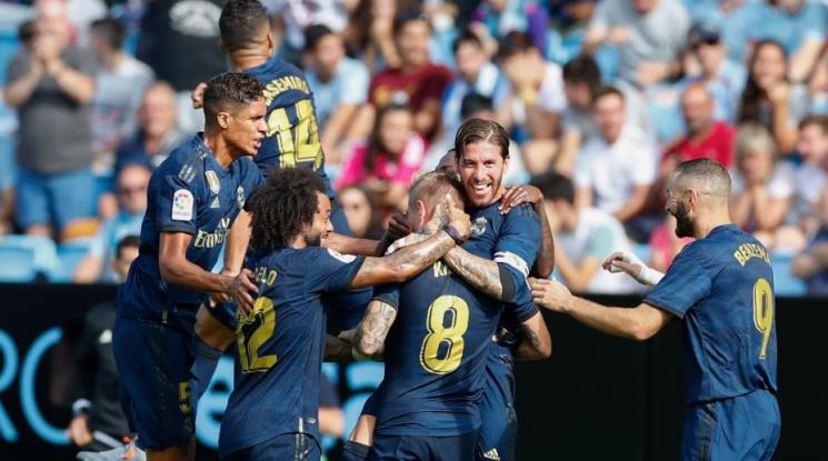 Десетима от Реал започнаха убедително новата кампания (видео)