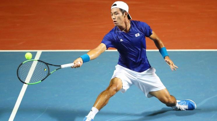 Южнокореец стана първият глух тенисист с победа в основната схема на ATP
