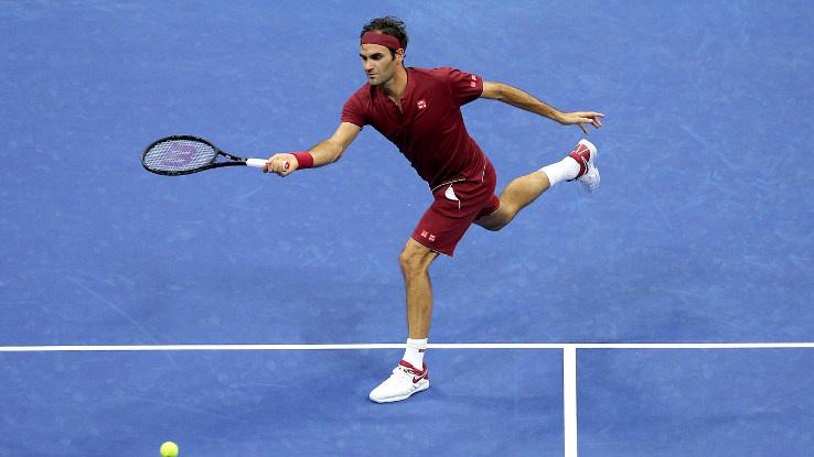 Победа за Федерер в мач №100 на Ю Ес Оупън