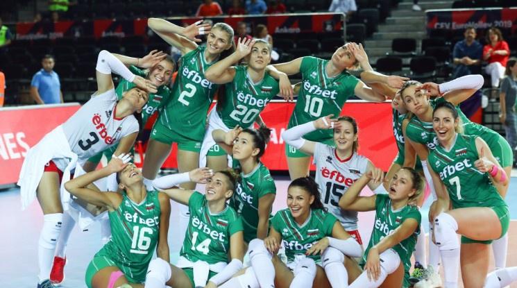 Категорична България продължи към осминафиналите на Европейското за жени