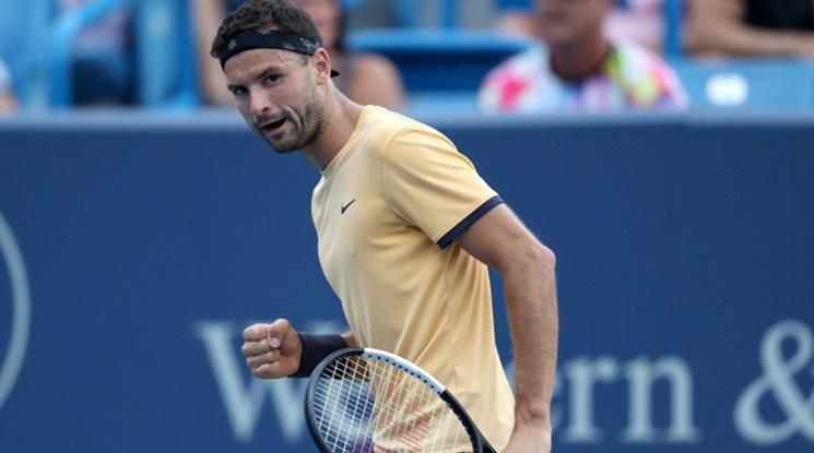 Гришо се класира на 1\4 финал на US Open за първи път в кариерата си