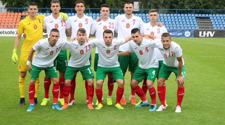 Младежите стартираха за Евро 2021 с разгром над Естония