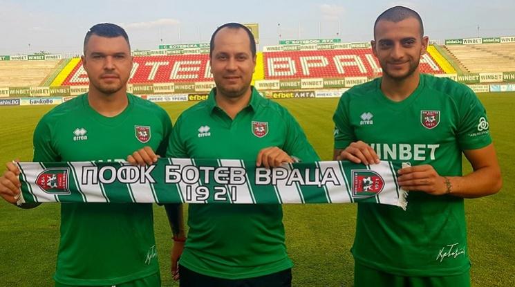 Официално: Божинов подписа с Ботев Враца