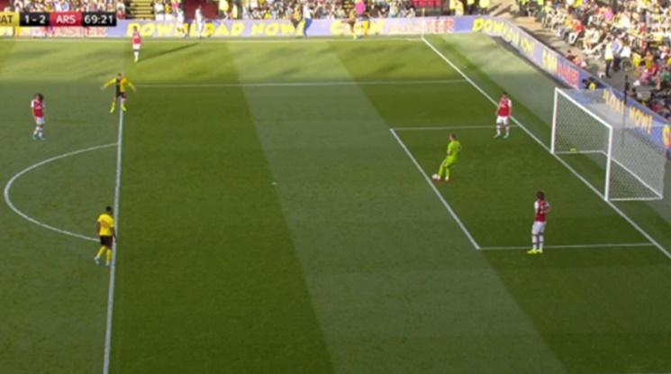Арсенал пропиля два гола аванс срещу Уотфорд (видео)
