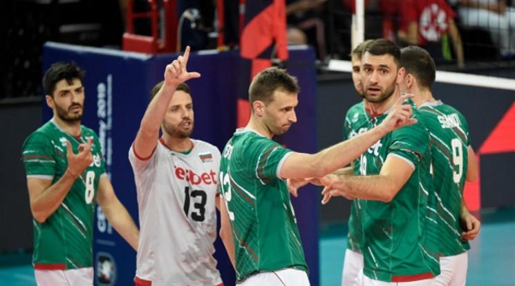 България загуби и от Италия на Евроволей
