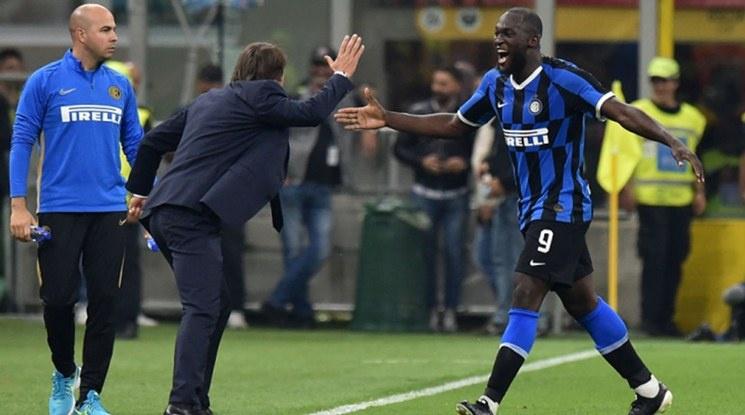 Триумф за Интер в дербито на Милано (видео)