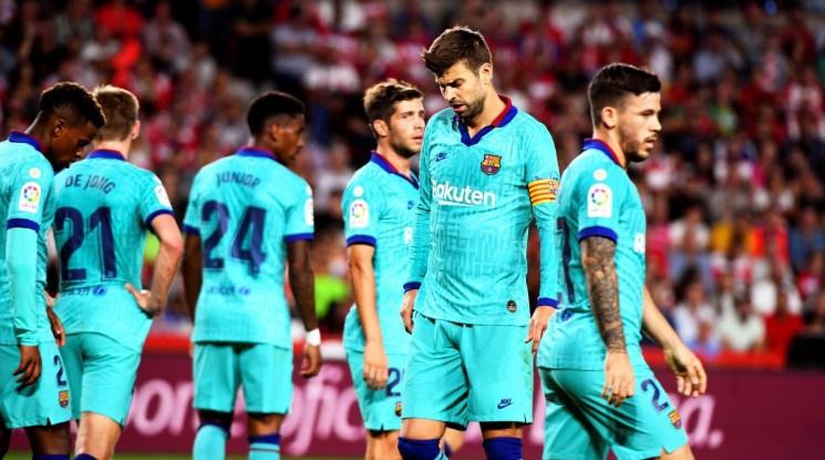 Барселона с най-лошия си старт в Ла Лига от 1994 г.