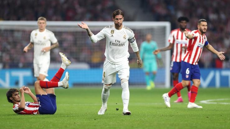 Атлетико и Реал не се победиха в дербито на кръга в Ла лига (видео)