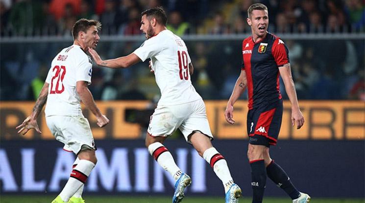 Милан с трудна победа срещу Дженоа (видео)
