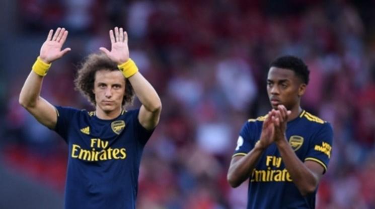 Давид Луис донесе три точки на Арсенал срещу Борнемут (видео)