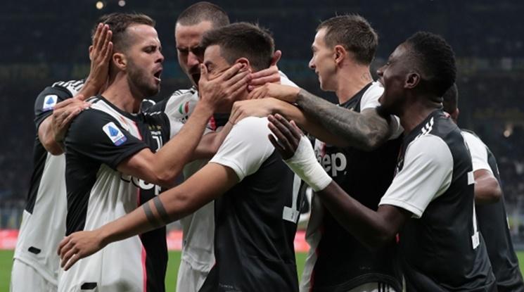 Юве е новият лидер в Серия А след бой над Интер (видео)
