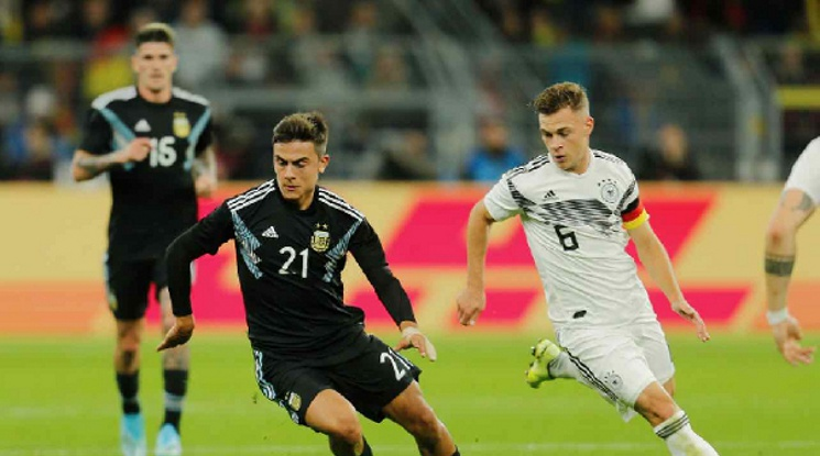 Германия 2-2 Аржентина (репортаж)