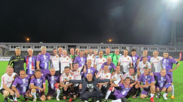 """Ветераните на Етър и Юнайтед сътвориха шоу на """"Ивайло"""""""